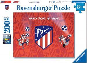 Los mejores puzzles del Atlético de Madrid - Puzzle del escudo del Atlético de Madrid de 200 piezas de Ravensburger