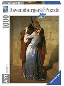 Los mejores puzzles del Beso de Francesco Hayez - Puzzle de 1000 piezas del Beso de Francesco Hayez de Ravensburger