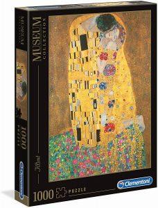 Los mejores puzzles del Beso de Gustav Klimt - Puzzle de 1000 piezas del Beso de Gustav Klimt de Clementoni