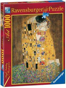 Los mejores puzzles del Beso de Gustav Klimt - Puzzle de 1000 piezas del Beso de Gustav Klimt de Ravensburger