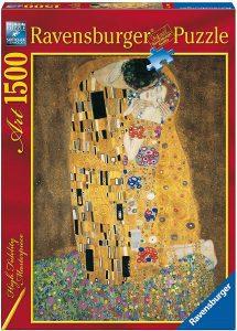 Los mejores puzzles del Beso de Gustav Klimt - Puzzle de 1500 piezas del Beso de Gustav Klimt de Ravensburger