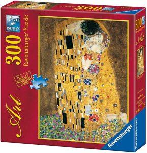 Los mejores puzzles del Beso de Gustav Klimt - Puzzle de 300 piezas del Beso de Gustav Klimt de Ravensburger