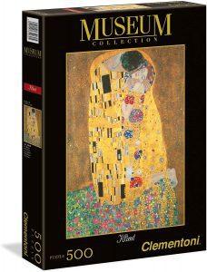 Los mejores puzzles del Beso de Gustav Klimt - Puzzle de 500 piezas del Beso de Gustav Klimt de Clementoni