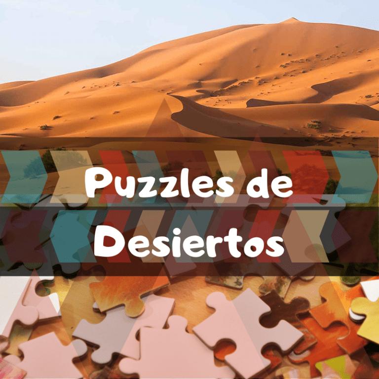 Los mejores puzzles del Desierto