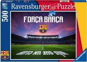 Los mejores puzzles del FC Barcelona del Camp Nou - Puzzle de Força Barça de 500 piezas de Ravensburger