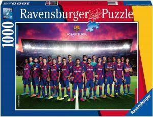 Los mejores puzzles del FC Barcelona del Camp Nou - Puzzle de plantilla del Barça de 1000 piezas de Ravensburger