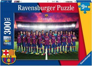 Los mejores puzzles del FC Barcelona del Camp Nou - Puzzle de plantilla del Barça de 300 piezas de Ravensburger