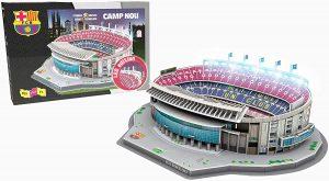 Los mejores puzzles del FC Barcelona del Camp Nou - Puzzle del Camp Nou del FC Barcelona en 3D de 107 piezas