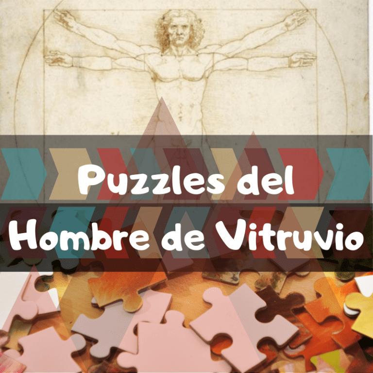 Los mejores puzzles del hombre de Vitruvio de Leonardo Da Vinci