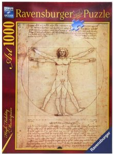Los mejores puzzles del Hombre de Vitruvio - Puzzle de 1000 piezas del Hombre de Vitruvio de Leonardo Da Vinci de Ravensburger