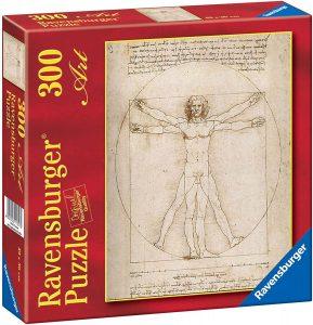 Los mejores puzzles del Hombre de Vitruvio - Puzzle de 300 piezas del Hombre de Vitruvio de Leonardo Da Vinci de Ravensburger