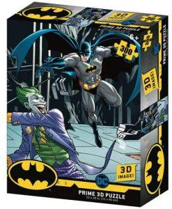 Los mejores puzzles del Joker - Puzzle de Batman vs Joker de 300 piezas de Prime 3D