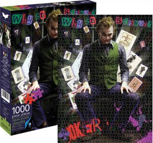 Los mejores puzzles del Joker - Puzzle de Joker de Why So Serious de 1000 piezas de Aquarius