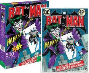 Los mejores puzzles del Joker - Puzzle de cómic de Joker de 500 piezas de Aquarius