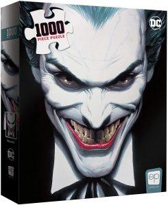 Los mejores puzzles del Joker - Puzzle de cara de Joker de 1000 piezas de USAopoly