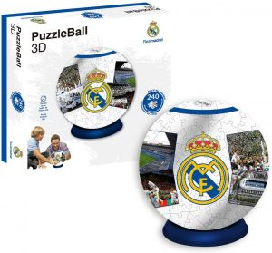 Los mejores puzzles del Real Madrid del Santiago Bernabeu - Puzzle del Real Madrid en 3D de 240 piezas