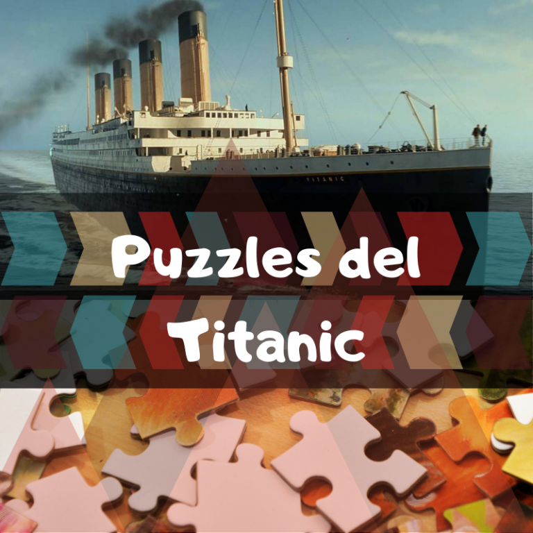 Los mejores puzzles del Titanic