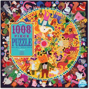 Los mejores puzzles del circo - Puzzle del circo de 1008 piezas