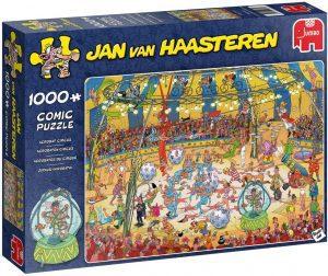 Los mejores puzzles del circo - Puzzle del circo de Jan Van Hassteren de 1000 piezas de Jumbo