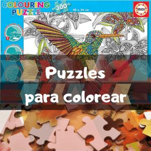 Los mejores puzzles para colorear - Puzzles para pintar - Puzzle para colorear