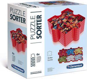 Los mejores separadores de piezas para organizar puzzles - Bandejas para organizar piezas para puzzles de Clementoni