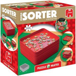 Los mejores separadores de piezas para organizar puzzles - Clasificadores de piezas para puzzles de Jumbo