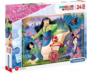 Puzzle de Mulán de 24 piezas de Clementoni - Los mejores puzzles de Disney - Puzzle de Mulán