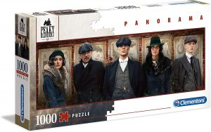 Puzzle de Panorama de Peaky Blinders de 1000 piezas de Clementoni - Los mejores puzzles de series de televisión - Puzzle de Peaky Blinders