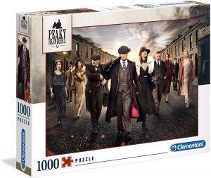 Puzzle de Peaky Blinders de 1000 piezas de Clementoni - Los mejores puzzles de series de televisión - Puzzle de Peaky Blinders
