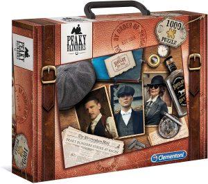 Puzzle de maletín de Peaky Blinders de 1000 piezas de Clementoni - Los mejores puzzles de series de televisión - Puzzle de Peaky Blinders