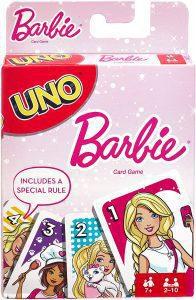 UNO Barbie - Juegos de mesa de UNO - Los mejores juegos de mesa de cartas de UNO