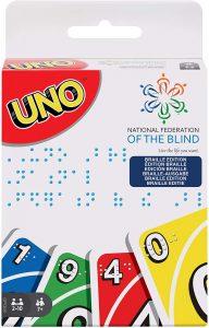 UNO Braille - Juegos de mesa de UNO - Los mejores juegos de mesa de cartas de UNO