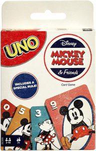 UNO Mickey Mouse inglés - Juegos de mesa de UNO de cartas - Los mejores juegos de mesa de UNO