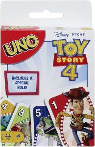 UNO Toy Story 4 - Juegos de mesa de UNO de cartas - Los mejores juegos de mesa de UNO