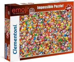 Los mejores puzzles Impossible - Puzzles Imposibles - Puzzle de Emoji Impossible de Clementoni de 1000 piezas