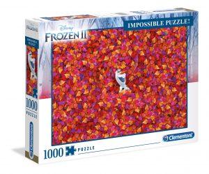 Los mejores puzzles Impossible - Puzzles Imposibles - Puzzle de Frozen 2 Impossible de Clementoni de 1000 piezas