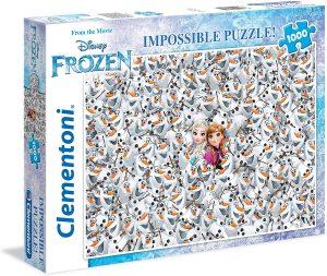 Los mejores puzzles Impossible - Puzzles Imposibles - Puzzle de Frozen Impossible de Clementoni de 1000 piezas