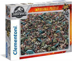 Los mejores puzzles Impossible - Puzzles Imposibles - Puzzle de Jurassic World Impossible de Clementoni de 1000 piezas