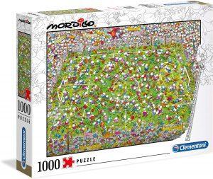 Los mejores puzzles Impossible - Puzzles Imposibles - Puzzle de Mordillo Fútbol Impossible de Clementoni de 1000 piezas