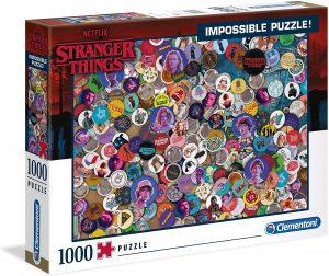 Los mejores puzzles Impossible - Puzzles Imposibles - Puzzle de Stranger Things Impossible de Clementoni de 1000 piezas