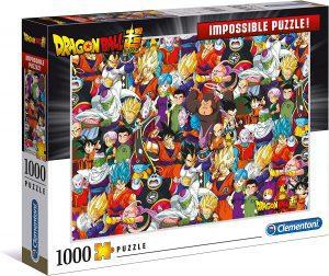 Los mejores puzzles Impossible - Puzzles Imposibles - Puzzle de de Dragon Ball Z Impossible de Clementoni de 1000 piezas