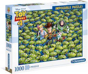 Los mejores puzzles Impossible - Puzzles Imposibles - Puzzle de de Toy Story 4 Impossible de Clementoni de 1000 piezas