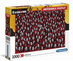 Los mejores puzzles Impossible - Puzzles Imposibles - Puzzle de la Casa de Papel Impossible de Clementoni de 1000 piezas