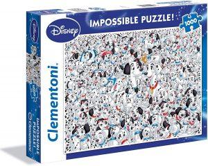 Los mejores puzzles Impossible - Puzzles Imposibles - Puzzle de los 101 dálmatas Impossible de Clementoni de 1000 piezas