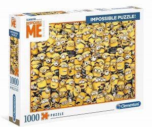 Los mejores puzzles Impossible - Puzzles Imposibles - Puzzle de los Minions Impossible de Clementoni de 1000 piezas