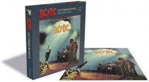 Los mejores puzzles de ACDC - Puzzle de Let There Be Rock de ACDC de 500 piezas de Aquarius
