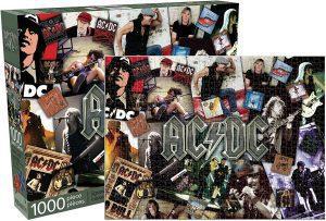 Los mejores puzzles de ACDC - Puzzle de collage de ACDC de 1000 piezas de Aquarius