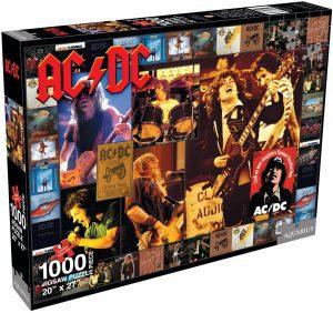 Los mejores puzzles de ACDC - Puzzle de discografía de ACDC de 1000 piezas de Aquarius
