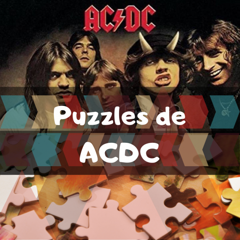 Los mejores puzzles de ACDC