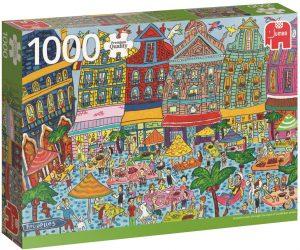 Los mejores puzzles de Bélgica - Puzzle de la Grand Place de Bruselas de Bélgica de 1000 piezas de Jumbo